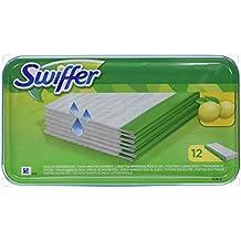 Swiffer - Lingettes Humides pour Balai (x12 Lingettes)