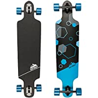 D Street Hex/Tri Drop Through Longboard Skating Jungen Herren Damen Sport Boards