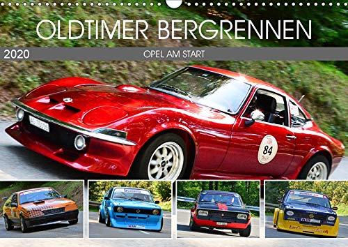OLDTIMER BERGRENNEN - OPEL AM START (Wandkalender 2020 DIN A3 quer)