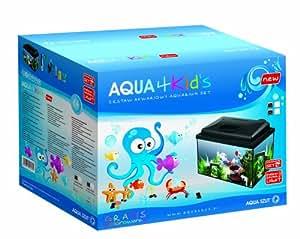 Aqua Szut - Aquarium pour enfant - Rectangulaire - 40 x 25 x 25 cm