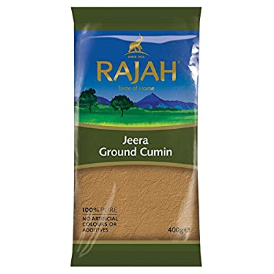 Rajah Jeera Ground Cumin, 400 g from Rajah