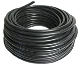 NYY-J - Cable eléctrico de instalación subterránea (3 x 1,5, 25 m), color negro