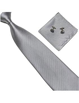 GASSANI - Corbata - para hombre gris gris