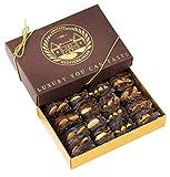 Dattes Medjerda Medjool rempli de noix ; noix, pistaches, amandes, noix de cajou | 16 pièces | Chateau de Mediterranean |...