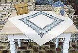 Kamaca Stickpackung Tischdecke Ornamente Kreuzstich vorgezeichnet aus Baumwolle...
