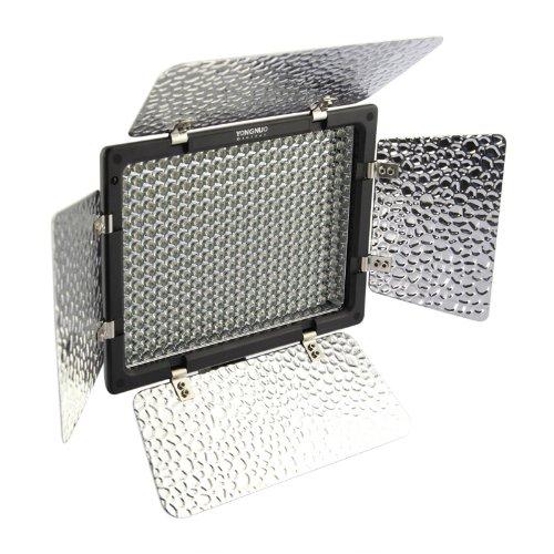 (con Batteria e Caricabatteria) 300 LEDs YN-300 Luce Video a