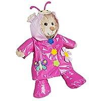 "Butterfly Raincoat Teddy Bear Outfit (8"")"