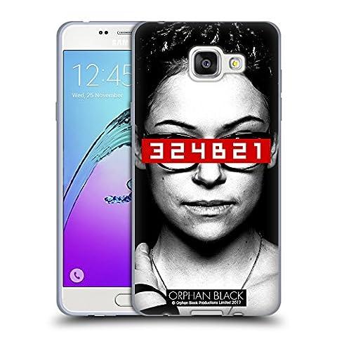 Officiel Orphan Black Clone Code Oeuvre D'art Étui Coque en Gel molle pour Samsung Galaxy A5 (2016)