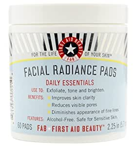 First Aid Beauty Facial Radiance Pads-60 ct. by First Aid Beauty BEAUTY (English Manual)