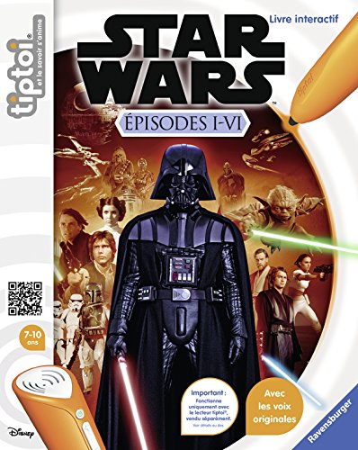 Ravensburger - 00667 - Tiptoi - Star Wars - Episodes I-VI 4005556006670