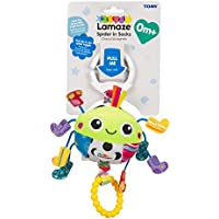 Lamaze Spider in Socks Clip On Pram and Pushchair Baby Toy - ukpricecomparsion.eu