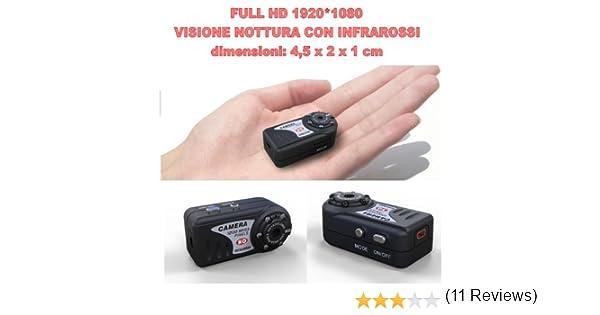 Telecamera Nascosta In Oggetti : Mini telecamera spia nascosta con registrazione minidv hd p