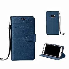 Galaxy S6 Edge Coque Éléphant Grain Style,MingKun Bookstyle Case avec Support et Cartes Slots Cover pour Samsung Galaxy S6 Edge Cuir Housse