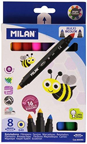 Milan 8411574800903 – Estuche de 8 rotuladores