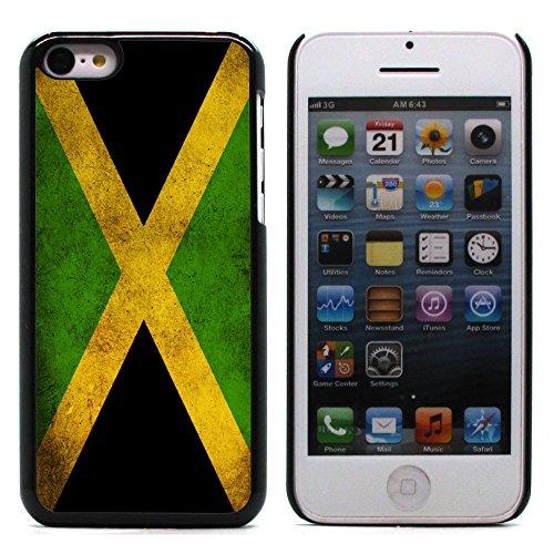 Graphic4You Vintage Uralt Flagge Von Bahamas Design Harte Hülle Case Tasche Schutzhülle für Apple iPhone 5C Jamaika Jamaikaner