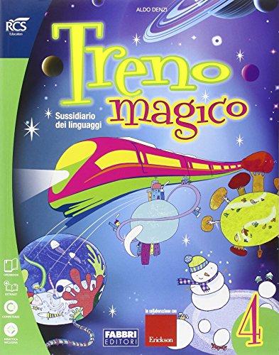 Treno magico. Sussidiario dei linguaggi. Per la 4 classe elementare. Con espansione online