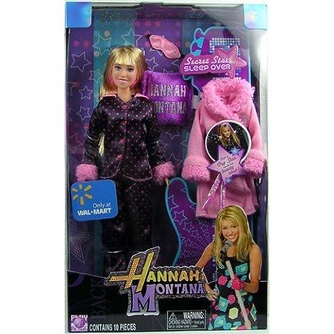 Secret Star Sleep Over Hannah Montana Disney Fashion Doll Exclusive Play Set by Jakks