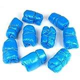 100 PZ Copriscarpe Copriscarpa Blu Multiuso Monouso Visitatore