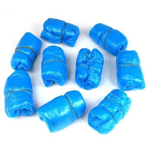 500 pz copriscarpe copriscarpa blu multiuso monouso visitatore