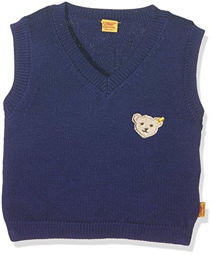 Steiff Baby-Jungen Pullover Pullunder 6712711, Blau (Blueprint 3029), 74