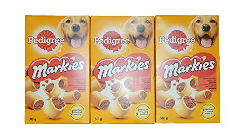 pedigree-dog-food-3-packages-of-pedigree-markies-soft-filled-marrow-biscuits-500-grams-with-omega-3-