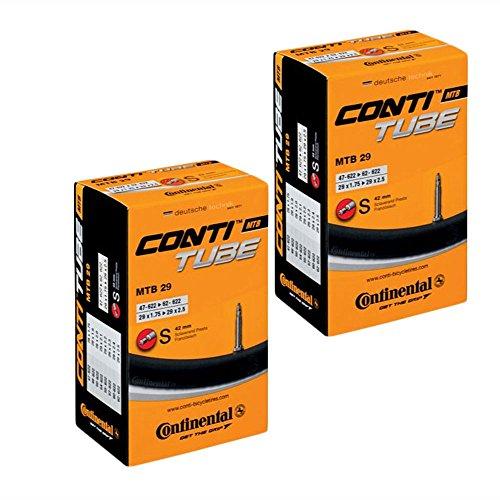 Continental Mountainbike Presta-Ventil für 29-Zoll-MTB-Reifenschläuche,1,75bis 2,5, 2Stück