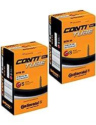 Continental 2x MTB 29Mountain Bike Camera d' Aria con valvola Presta da 1.75a 2.5