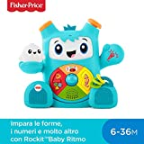 Rockit Baby Ritmo e Glow non vedono l'ora di giocare e imparare con il vostro piccolo. Questi amici interagiscono tra di loro e con il bambino, con luci, musica e frasi interattive che insegnano l'alfabeto, a contare e tanto altro. Il vostro bambino ...