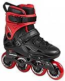 Powerslide Imperial Basic 80 Freeskate Inline Skates schwarz-rot