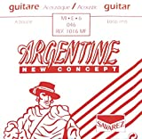 Savarez Cuerdas Para Guitarra Acustica Argentine Mi6-1016Mf, Con Lazo
