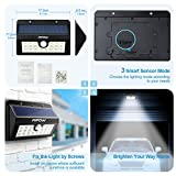 Solar Lights, Mpow 20 LED  Motion Sensor Security Lights, Home Security Solar Lights 3-in-1 Wireless Weatherproof Outside Sensor Lights for Pathway, Garden, Pool, Walkway, Driveway Bild 6