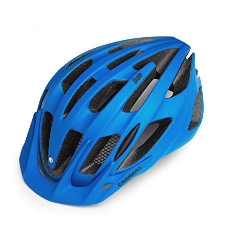 Carrera Shake 2.13MTB-Helm Medium mattblau
