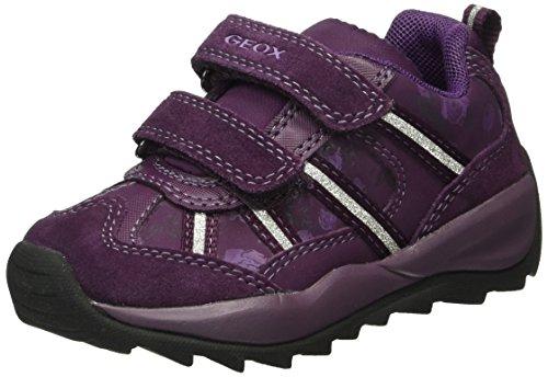 Geox Mädchen J Orizont Mädchen A Sneakers, Violett (Dk PURPLEC8016), 29 EU