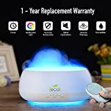 #3: Tesco Cloud Mist Air Humidifier, Aroma Diffuser With Multi Color Lamp, 500Ml