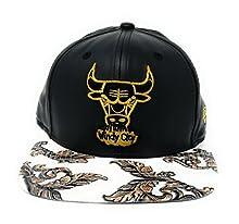 f3beb8e4508 New Era 9Fifty Digi Vize Chicago Bulls Strapback Hat (White)
