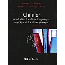 Chimie 3 inorganique organique by Burrows (December 01,2011)