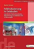 Feldreduzierung in Gebäuden. Geschirmte Elektroinstallation, Abschirmung an Gebäuden und in Wohnungen (de-Fachwissen) - Martin Schauer