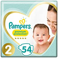Pampers Premium Protection Baby Windeln, Gr.2 Mini (4-8 kg), Value Pack, 1er Pack (1 x 54 Stück)