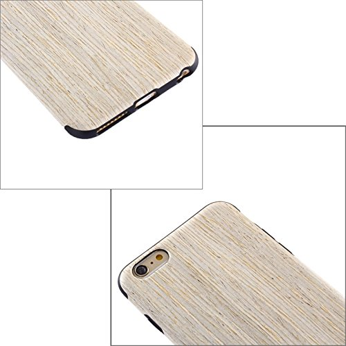 Wkae Case & Cover Pour iPhone 6 Plus &6s plus Walnut Boîtier de protection en bois + PU ( SKU : S-IP6P-0659E ) S-IP6P-0659A