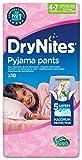 Huggies DryNites Girl hochabsorbierende Pyjamahosen Unterhosen 4-7 Jahre, 2 er Pack (2 x 30 Pants) Test