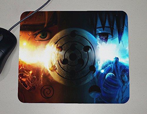 Naruto Shippuden - Uzumaki Naruto - Nine Tails Fox Form - Japanese Anime - Custom Name Mouse Pad