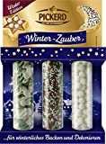 Zuckerdekor / Streudekor 'WINTER - LAND' (3 Varianten / 73 g) BACK - DEKORATION …