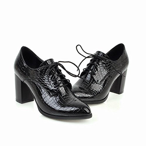 Misssasa Femme Chaussures De Charme Élégant Noir