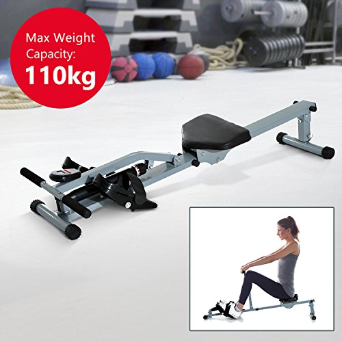 HOMCOM Rowing Machine