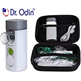 Dr Odin Portable Mesh Nebulizer ReChargeable Machine for Kids and Adults for Anywhere Use with Small and Big Mask