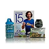 Men's Fitness Gift Box Hamper – Perfect Present Idea for Active Athletic Men, Body Builder, Gym Buffs and Health & Lifestyle Conscious – Unusual Present for Him, Her and any Workout and Sport Lover – Joe Wicks Lean In 15 Book, Ice Towel, Talking Strength Ball, Protein Snack – Unique Health and Fitness Themed Gift Sets for Boyfriends, Girlfriends, Birthday, Christmas, Valentine's, Father's Day Present, for Him, Her, Mums, Dads, Boys, Girls and Men, Women of All Ages.