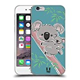 Head Case Designs Koala Animali E Cuccioli Cover in Morbido Gel Compatibile con iPhone 6 / iPhone 6s