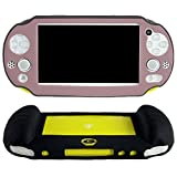 Pandaren Silicone Cover Hand Grip Protective Case (Brown) For Ps Vita Slim 2000
