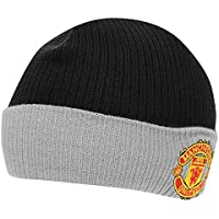 1bfcf2e7d92 Official Football Merchandise Kids Junior Manchester United FC Core Winter  Beanie Hat