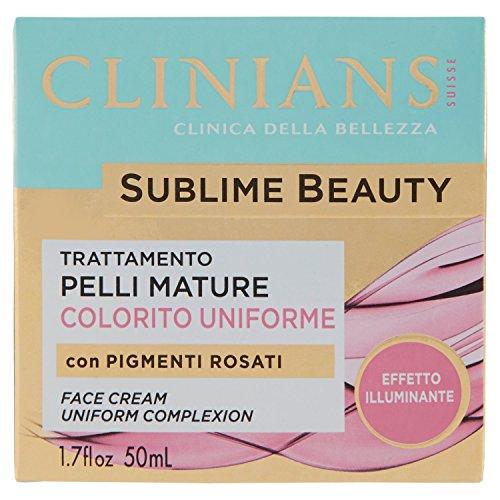 Clinians Sublime Beauty Trattamento Antirughe Idratante 50 Milliliter